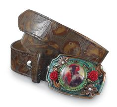 "Another belt my friend did for Crow's Nest ""Brave Cameo Belt""  If you need a custom belt, let me know!"