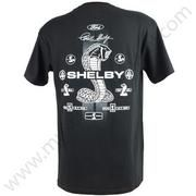 Shelby Cobra T Shirt - Collage