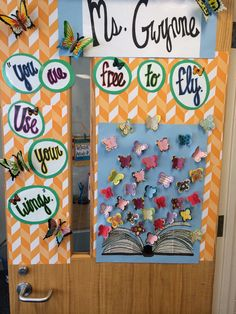 A cute door decoration for the beginning, middle, or end of the year! Perfect for Language Art Teachers!!