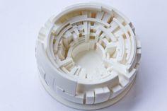 3D printed microsculpture