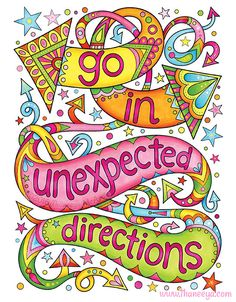 More Good Vibes Coloring Book by Thaneeya McArdle features 32 whimsically illustrated coloring pages of positive phrases and uplifting sayings. Positive Phrases, Positive Affirmations, Positive Thoughts, Positive Vibes, Positive Quotes, Words Quotes, Me Quotes, Peace Quotes, Sayings