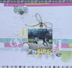 #papercraft #scrapbook #layout  Growing up in: Faith, Love & Scrappyness