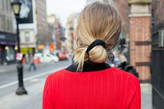 Scrunchies Are Back and New York Women Know It