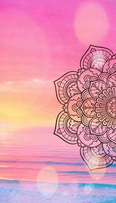 New wall paper iphone mandalas design Ideas Beautiful Girl Wallpaper, Flowery Wallpaper, Doodle Art Drawing, Wall Drawing, Mandala Painting, Mandala Drawing, Cellphone Wallpaper, Iphone Wallpaper, Cute Wallpapers