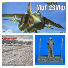 Mig-23MF 1/72 Zvezda (Combo-Pack)