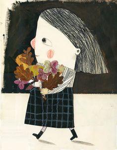Vent de tardor,maria dolors pellicer. I.lustració Manon Gauthier | Poesia infantil a l'escola