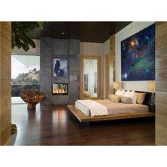 Contemporary (Modern, Retro) Bedroom by Lori Dennis