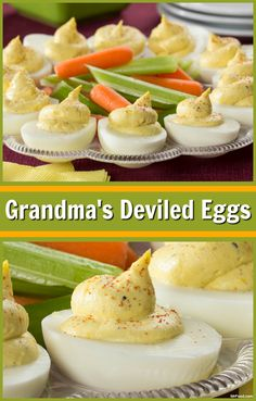 There's lots of ways to make deviled eggs, but if you're looking for a traditional style, there's nothing better than Grandma's Deviled Eggs!