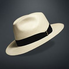 I love a panama hat to keep my head cool in summer