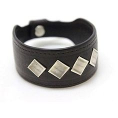 Pre-owned Bottega Veneta Leather Dark Brown Silver Bracelet ($335) ❤ liked on Polyvore featuring jewelry, bracelets, silver jewelry, leather bangle, preowned jewelry, leather jewelry and pre owned jewelry