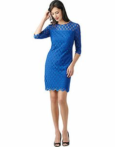 Women's Apparel | Dresses | Dot Shift Dress | Lord and Taylor
