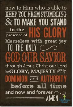 Stand in the Glory of the Son of God