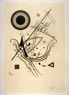 Blue Artist: Wassily Kandinsky Completion Date: 1922 Place of Creation: Germany Style: Abstract Art Genre: abstract painting Technique: lithography Material: paper Dimensions: 21 x cm Gallery: Norton Simon Museum, Pasadena, CA, USA Kandinsky Art, Wassily Kandinsky Paintings, Abstract Words, Abstract Art, Abstract Landscape, Kunst Poster, Constructivism, Russian Art, Art And Architecture