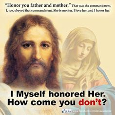 Yes, honor not worship and never put above Christ. Why is that so hard to understand?