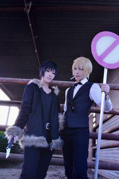 DRRR!!! ~.~ Izaya Orihara cosplayed by TAMA and Shizuo Heiwajima cosplayed by ATAIOTO ♥