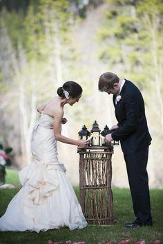 Beaver Creek Wedding from Brinton Studios  Read more - http://www.stylemepretty.com/2013/08/01/beaver-creek-wedding-from-brinton-studios/