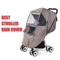 million baby stroller accessories -- stroller rain cover protect baby from rain, snow and wind