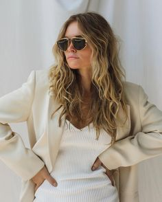 Shady Lady, Claire, Sunglasses Women, Bell Sleeve Top, Long Hair Styles, Beauty, Instagram, Rose, Fashion