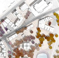 Urban project: masterplan for Siekierki district on Behance