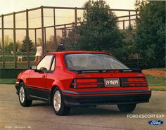 1986 Ford Escort EXP