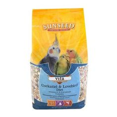 BIRD - FOOD: SEEDS & PELLETS - VITA TIEL - 2.5LB - Vitakraft Sun Seed, Inc - UPC: 87535250124 - DEPT: BIRD PRODUCTS