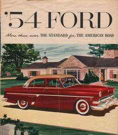 1954 Ford Customline Fordor Sedan