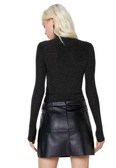 Minissaia AMARO Leather Bolsos Laterais Preto - Compre Agora | Dafiti Brasil Real Leather Skirt, Leather Skirts, Moda Online, Hot Pants, Products, Fashion, Leather Pieces, Mini Skirts, Skinny