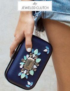 Convierte un clutch del chino en un bolso de fiesta DIY