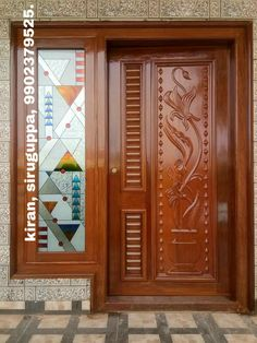 Wooden Front Door Design, Front Gate Design, Door Gate Design, Door Design Interior, Wooden Front Doors, Indian Main Door Designs, Door Design Photos, Window Glass Design, Modern Exterior Doors