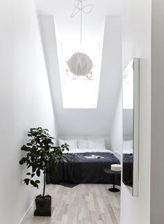 Bedroom at loft #habitatsverige
