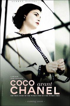 """""""Coco avant Chanel"""" d'Anne Fontaine  avec Audrey Tautou, Benoit Poelvorde, Marie Gilain, Emmanuelle Devos. 2009."""