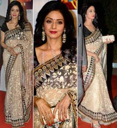 @ $149 Sridevi Filmfare award Saree with free shipping offer only at www.buyindianwear.com