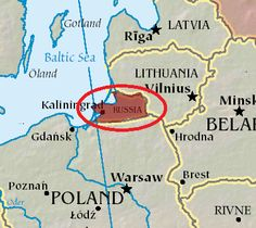 Leszek Sykulski: Poland and Russia should seek to further normalise relations Kaliningrad Russia, Pictures Of Germany, Russia Map, Political Articles, Prussia, Baltic Sea, Eurotrip, Family History, Poland