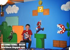 super mario themed room - Google Search