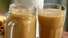 Mrkvový-mangový drink pre deti Smoothie, Peanut Butter, Pudding, Drinks, Desserts, Food, Drinking, Tailgate Desserts, Beverages
