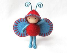 Cherries and Blueberries Juicy Bug by dreamalittle7 on Etsy