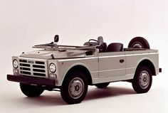 "Fiat 1107 ""Nuova Campagnola"" (1974-87) The Fiat Campagnola is a light off-road vehicle produced by Fiat. Production started in 1951 and it was upgraded in 1974."