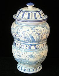 Italian pottery  very similar to what is in my kitchen