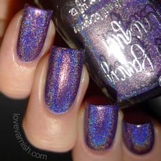 Pinned from www.lovevarnish.com Swatches violette etoilee