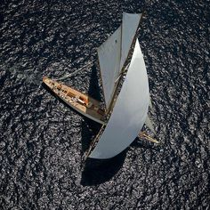 Nice shot of this wonderful classic sailing yacht Boating Holidays, Cruise Holidays, Classic Sailing, Classic Yachts, Catamaran, Super Yachts, Yacht Boat, Pontoon Boat, Sail Away