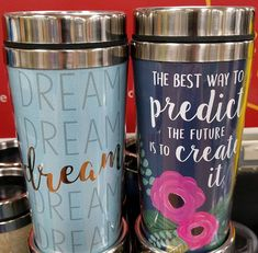 "KING BASIL is the script used for the ""dream"" on the left. Spotted at Walmart! Basil, Tumbler, Script, Fonts, Walmart, King, Mugs, Create, Tableware"