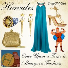 Disney Style: Hercules, created by trulygirlygirl on Polyvore