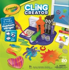 Crayola Cling Creator. Crayola; Toys, Games & Puzzles: Ages 5 to 8