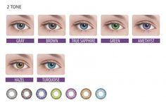 #линзы #глаза  Цветные контактные линзы Adria Color 2 Tone