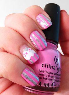 Cupcake Nails nail art by Katie