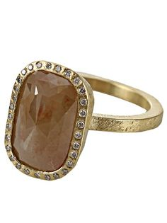 #TODDREED Fancy Diamond Ring #Farfetch