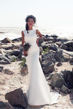 Свадебное платье «Бертрани» Ариамо Брайдал — купить в Москве платье Бертрани из коллекции 2016 года