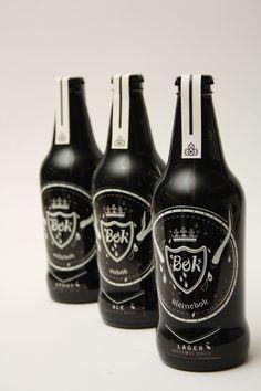 Craft Beer_ Bok by Jana Jansen van Vuuren, via Behance