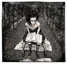 A Twist In The Tale  - Part of the Wonderland Portrait Series by Kirsty Mitchell