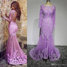 2016-long-sleeve-mermaid-prom-dresses-tulle